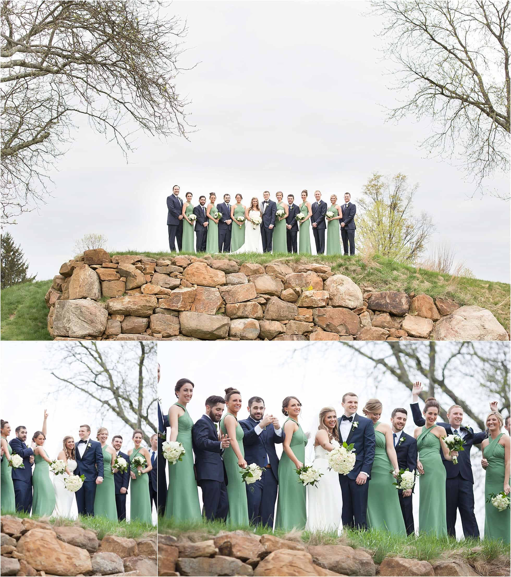 Green And White Wedding Photos Ideas Manor Country Club