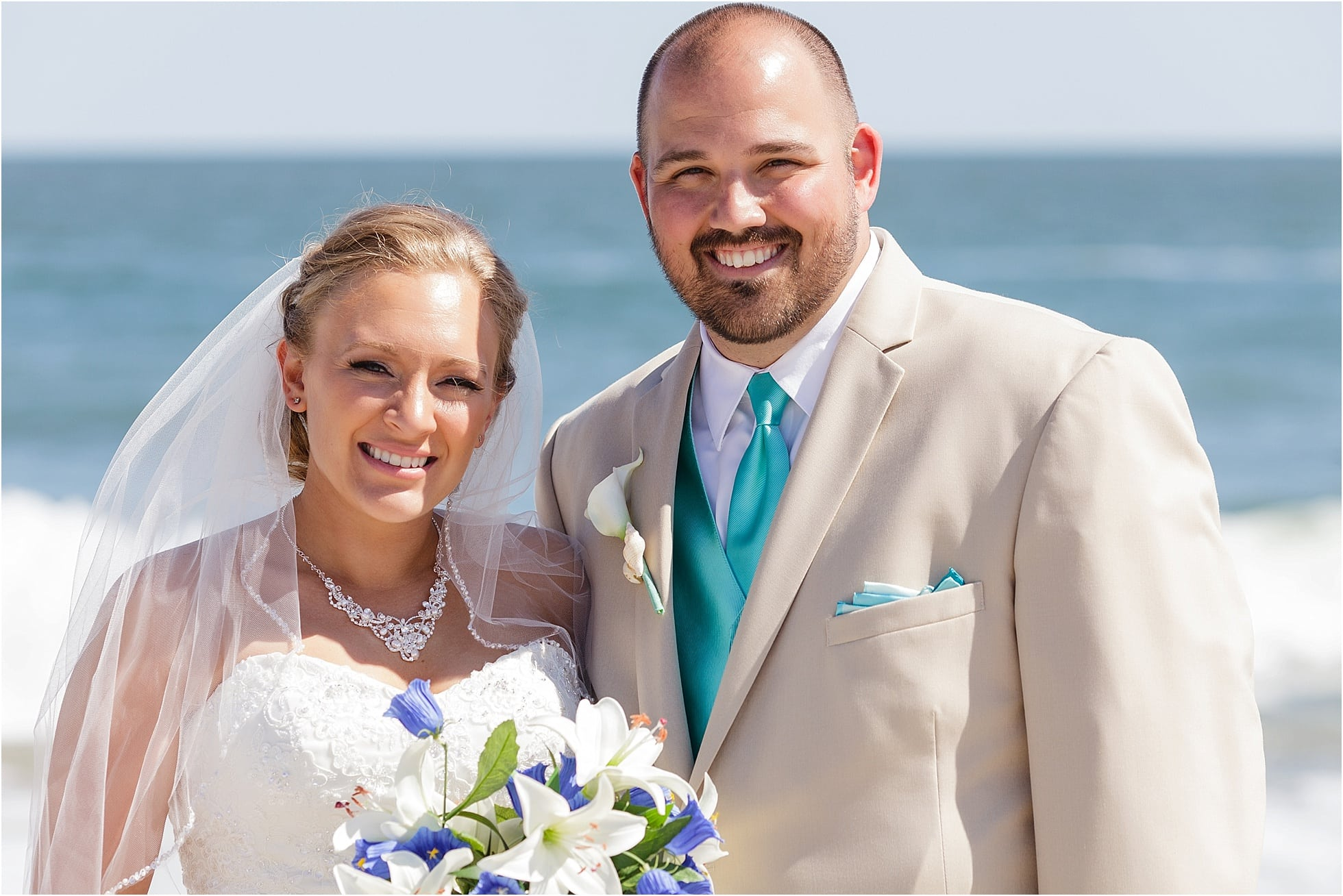 Cape May Beach Wedding photos - South Jersey Weddings