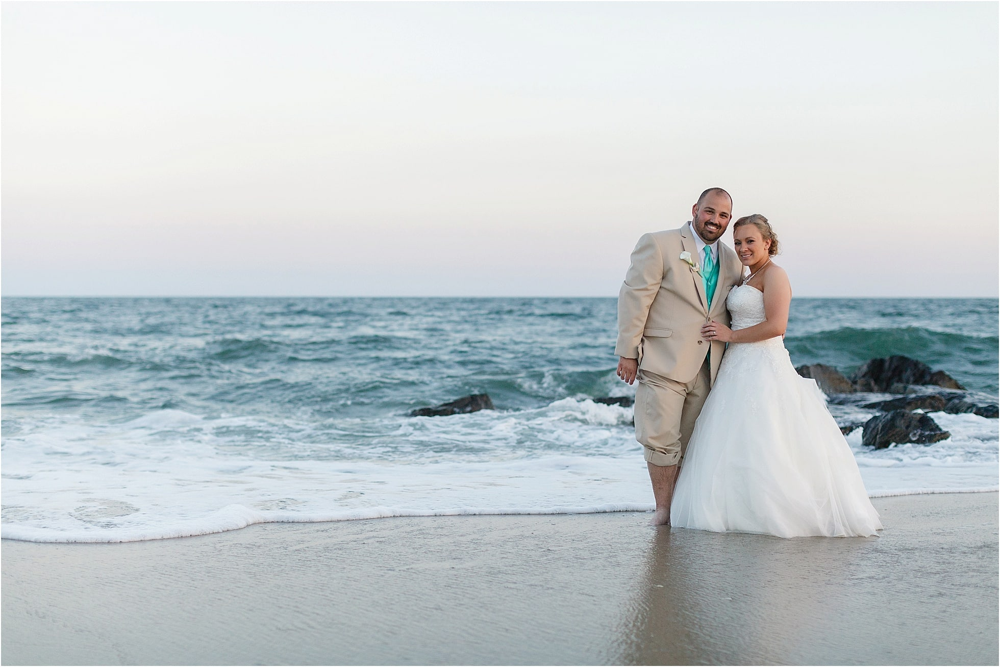 Cape May Beach Wedding Photos