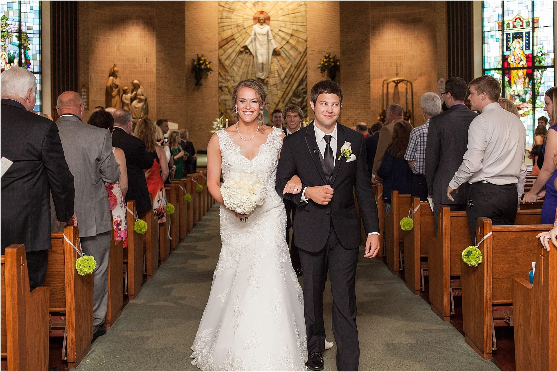 Berkshire County Club wedding photos | St Ambrose Church Central PA