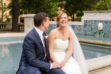 Jessica and Andy had an amazing experience with Ashley Gerrity Photography during their College of Physicians wedding.