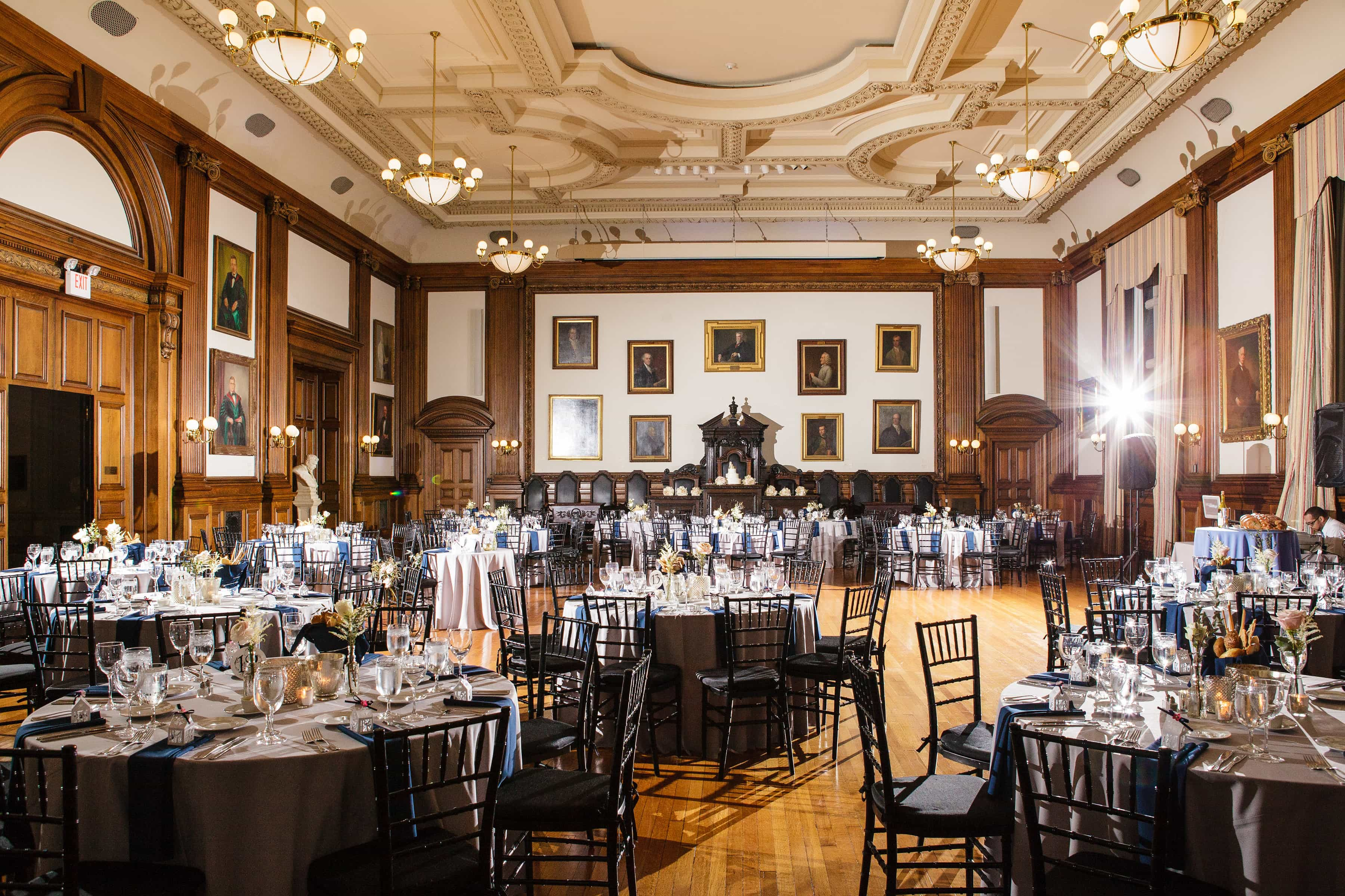 College Of Physicians Favorite Philadelphia Wedding Venues