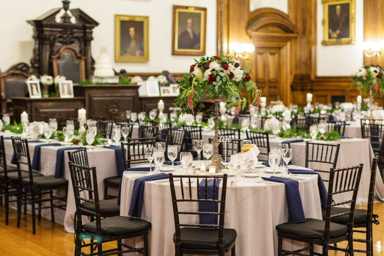 classic and historical wedding venue philadelphia college of physicians