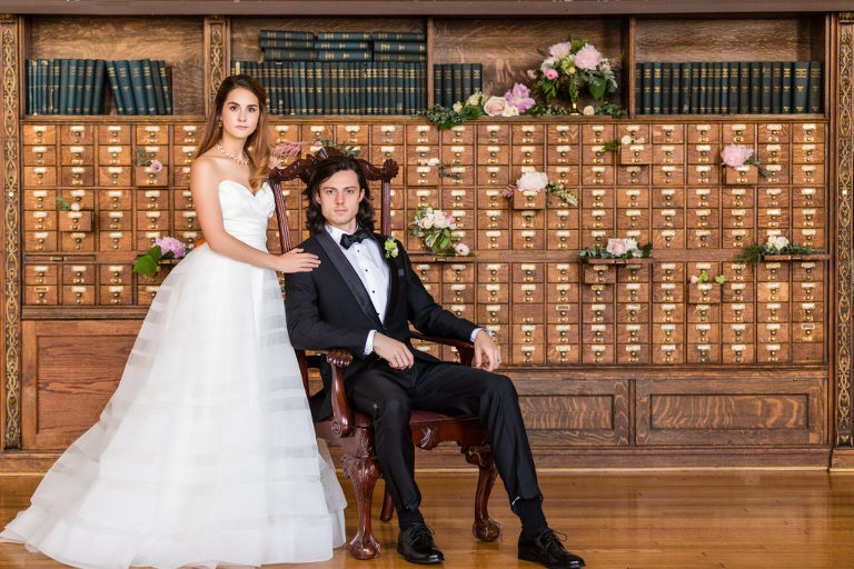 bride and groom college of physicians philadelphia wedding