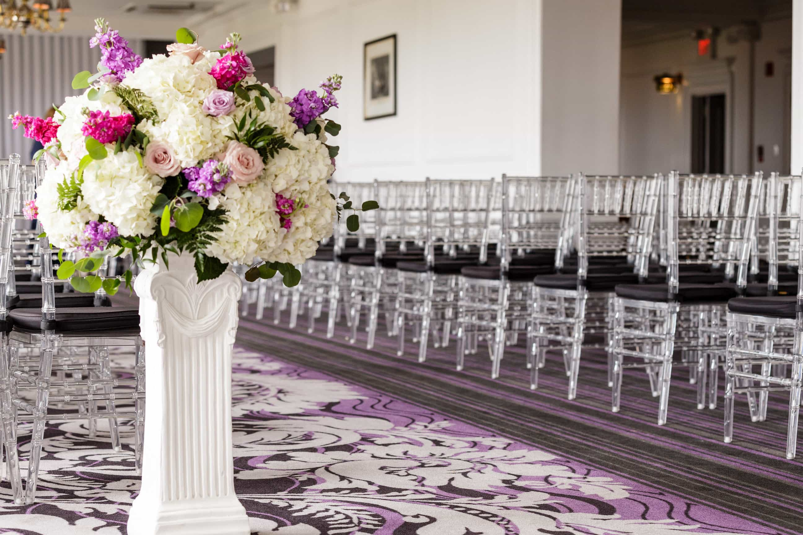 Wedding Ceremony At Philadelphia Downtown Club