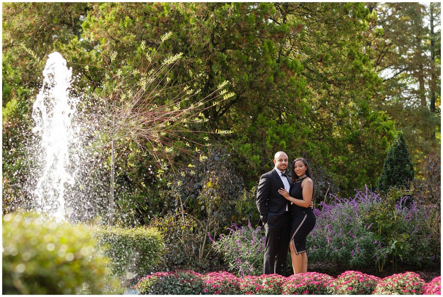 Longwood Gardens Engagement Session - Alexandra Clerie & Joey Alford