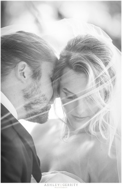 Romantic black and white portraits of bride and groom | Stroud Preserve Portraits