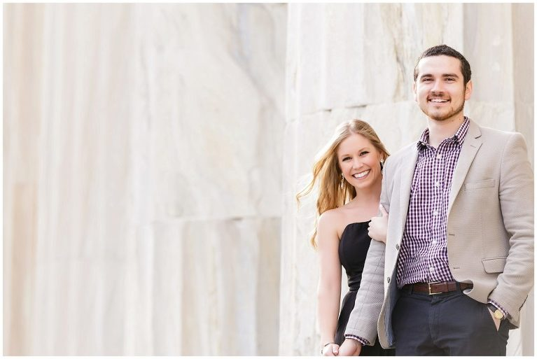 Engagement pictures, architecture, marble, engagement inspiration