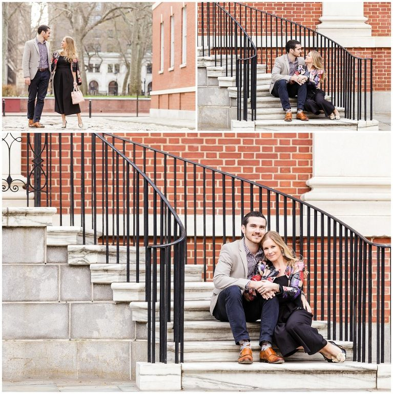 Architecture, staircases, interesting engagement locations,