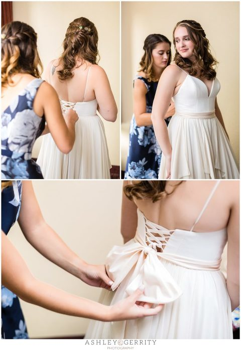Bridesmaid, floral pattern bridesmaid dress, bridal portraits, bride to be