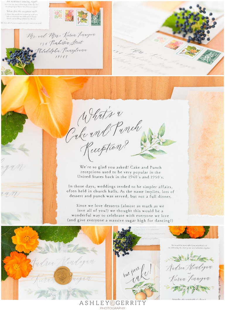 Cake And Punch Wedding Reception Timeline