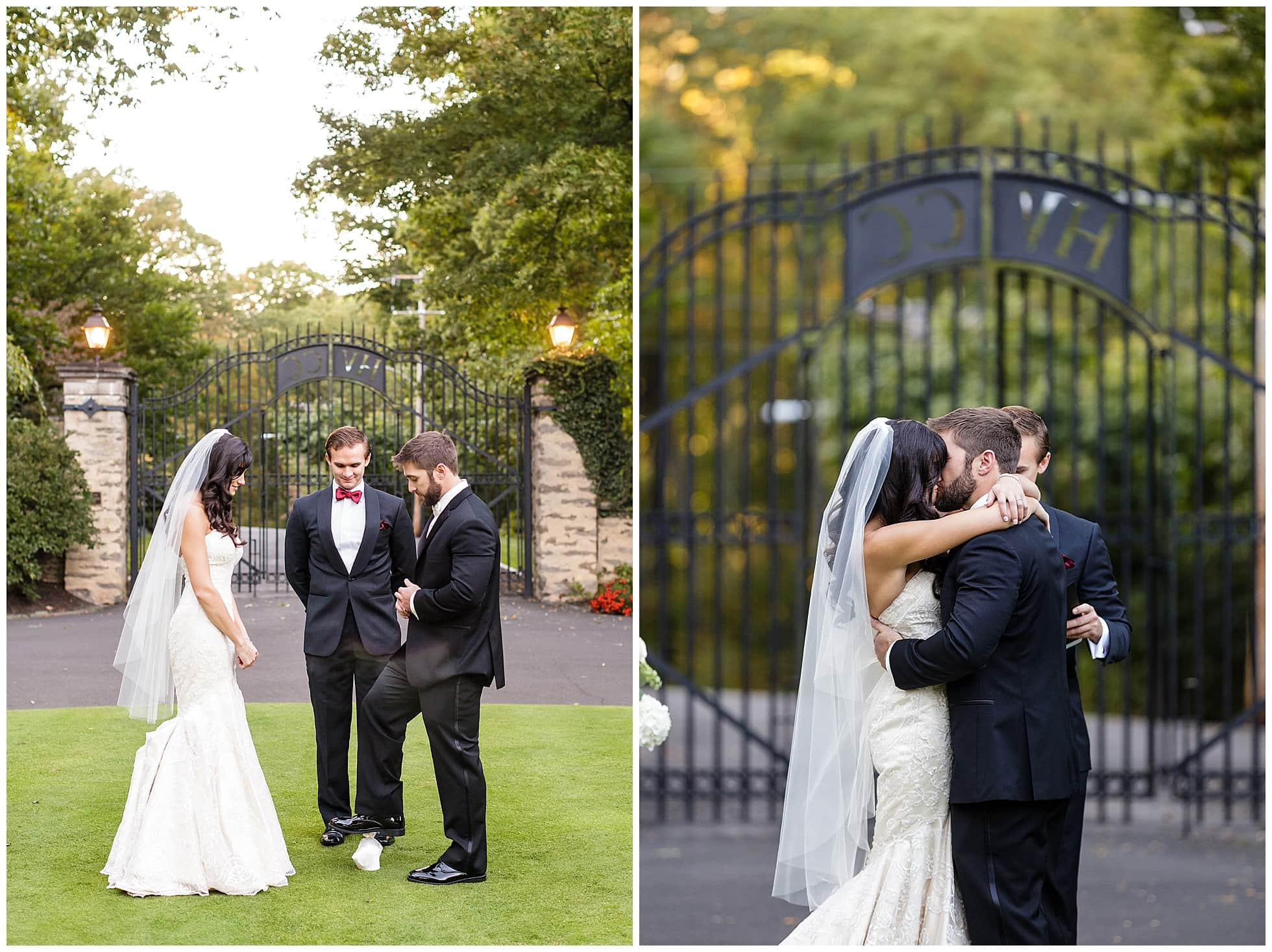 Huntingdon Valley Country Club Wedding Photos Outdoors Love This Blended Incorporating Some Jewish Traditions